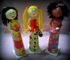 Minhas bonecas de cone