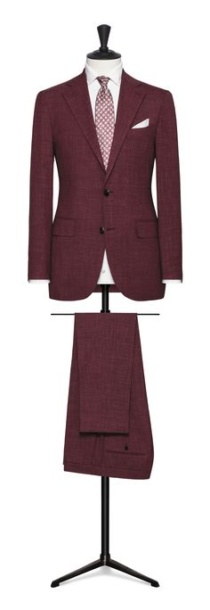 mid red made to measure suit Made To Measure Suits, Personal Style, Red Burgundy, Blazer, Jackets, Fashion, Down Jackets, Moda, Fashion Styles