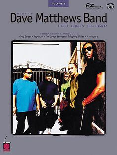 Cherry Lane - Best of Dave Matthews Band Easy Guitar Tab Songbook
