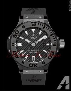 "Hublot BIG BANG KING ""BLACK MAGIC"" 48mm ALL-BLACK 300m AUTOMATIC"