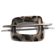 www.ORRO.co.uk - Lesley Strickland - Silver & Bakelite Orbit Brooch - ORRO Contemporary Jewellery Glasgow