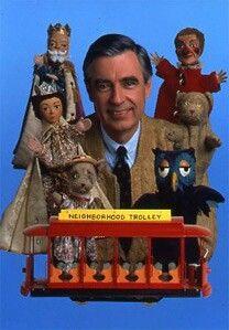 Mr. Roger's Neighborhood one of my favorite childhood shows