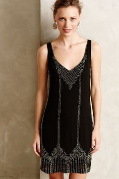 hedy stitched shift dress - very Great Gatsby! Black Bridesmaids, Black Bridesmaid Dresses, Pretty Outfits, Pretty Dresses, Beautiful Dresses, The Great Gatsby, Scott Fitzgerald, Looks Party, Short