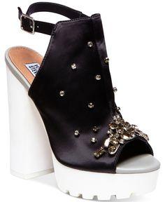 Steve Madden by Iggy Azalea Tempo-s Bling Platform Dress Sandals