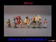 Kolekcja figurki żołnierzy konie del prado 10 szt