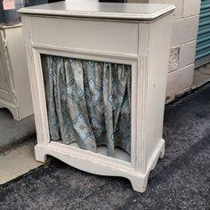 Upcycled radio cabinet