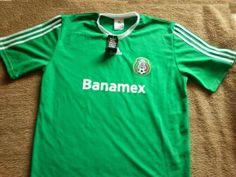 Jersey Adidas Selección Mexicana Nuevo   300 Jersey Adidas de la Selección  Mexicana de Futbol 76dfdfcc132d7