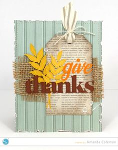 Give Thanks Thursdays Sketch card by Amanda Coleman