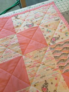 My first baby quilt