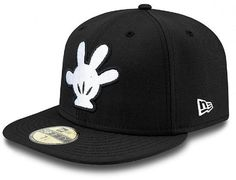 DISNEY x NEW ERA「Mickey Mouse Custom」59Fifty Fitted Baseball Cap