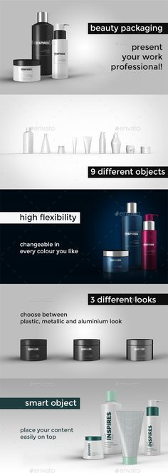 Beauty Packaging Mockup - Beauty Packaging