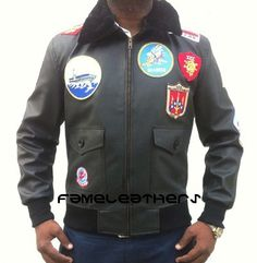 3943f2fd0c4 Tom Cruise Pete Maverick Top Gun Flight Leather Jacket