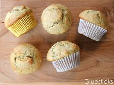 Fat-Free Banana Muffins. My kids love these for a quick breakfast on school days!