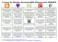 """February is """"I Love to Read"""" month and we're inviting classrooms everywhere to join us in playing ConnectED BINGO. We collaborated with authors and educators across North America to create an epic . Instructional Technology, Educational Technology, Library Activities, Fun Snacks For Kids, Video Games For Kids, School Pictures, Education Quotes, Classroom Management, Bingo"""