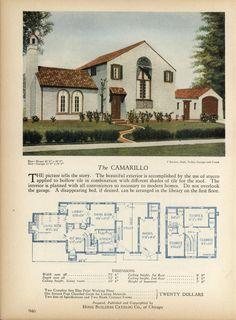 """~ """"The Camarillo"""" house plan ~"""