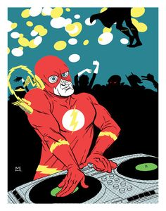 DJ Flash - Geek Art Series