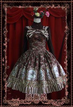 >> Click to Buy << Free Shipping Women Lolita Dress Retro Sweet JSK Dress Girls Daily Summer Clothing Coffee/Beige #Affiliate