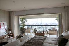 home-tour-apartamento-tons-neutros-projeto-debora-aguiar-12 Decor, Condo Living, House, Interior, Home, Formal Living Rooms, New Homes, Living Room Interior, Interior Design