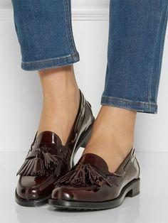 3686653530e3a Mocassin Femme Cuir, Chaussure Plate Femme, Chaussure Chic, Chaussures  Femme, Chaussure Fashion