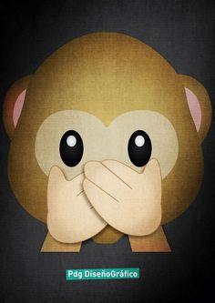 Emoji Mono Pdg Diseño Grafico
