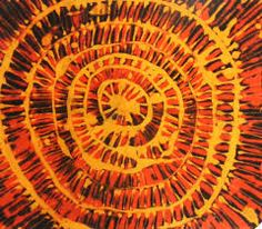 Di solito i BATIK (specialmente quello del Kenia) raffigurano scene di vita quotidiana (mercato, caccia o pastorizia) e i colori sono quello che richiama alla terra e natura (come il nero, marrone, verde scuro e giallo)