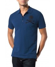 Philipp Plein - Next Year Polo Shirt Blue #PhilippPlein