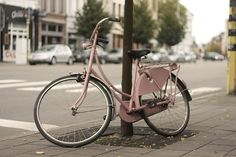 Antwerp bicycle by the cherry blossom girl, via Flickr
