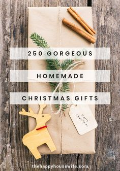 Over 250 homemade Christmas gifts to give to everyone on your list. Easy to make and affordable DIY gift ideas for mom, dad, and the kids. christmas gifts for mom Homemade Christmas Gifts Diy Christmas Presents, Christmas Gifts For Wife, Christmas Mom, Handmade Christmas Gifts, Xmas Gifts, Easy Homemade Christmas Gifts, Christmas Ideas, Handmade Gifts, Homemade Gifts For Men
