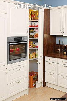 Kitchen corner pantry cabinet the doors ideas Kitchen Pantry Cabinets, Diy Kitchen, Kitchen Storage, Storage Spaces, Kitchen Decor, Kitchen Ideas, Storage Ideas, Kitchen Inspiration, Kitchen Organization