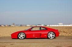 Vintage Cars, Antique Cars, Ferrari 348, Car Illustration, Audi Sport, Train Car, Car Wheels, Amazing Cars, Fast Cars