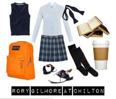 Rory Gilmore at Chilton. Halloween costume?