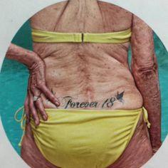 Forever 18... ENORME MAMIE !!! Idée Tatoo pour Pauline !