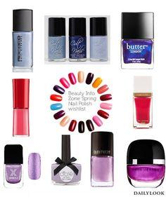Spring Nail Polish wishlist from Beauty Info Zone