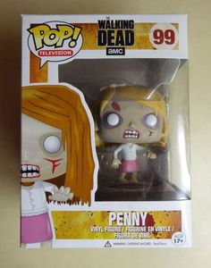 Funko POP Retired/Vaulted Penny Blake Zombie The Walking Dead Vinyl Figure