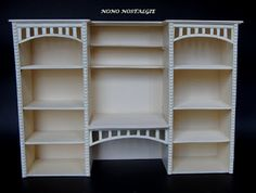 tutorial: miniature shop shelves