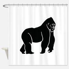 gorilla_silhouette_shower_curtain.jpg (225×225)