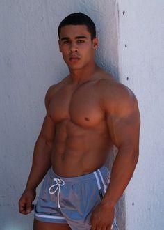 Gay latin muscle