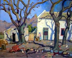 View Huguenot farm, Kanettefontein, Wellington by Gregoire Johannes Boonzaier on artnet. Browse upcoming and past auction lots by Gregoire Johannes Boonzaier. Abstract Landscape, Landscape Paintings, African Art Paintings, South African Artists, Art Themes, Naive Art, Art And Illustration, Artist Art, Art Oil