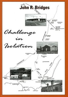 """""""Challenge in Isolation"""" by John R. Bridges 2004 Paperback-Israelite Bay area is available in Hardback and Paperback of the Israelite Bay area including Balladonia. History with many pics. Great for all off road explorers curious about the ruins of the area. Contact jbesperance@hotmail.com"""