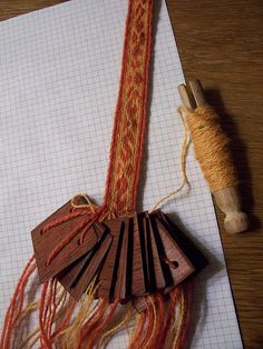 nice tablet weaving