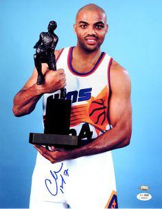 Charles Barkley Signed 11x14 Photo - JSA #SportsMemorabilia #PhoenixSuns