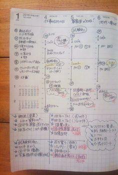 """こんにちは!(*""""ー""""*)今日はお休みですがちょっと頭が痛いー。たぶん、目から来てると思う^^;;試験やら資料作りやらでちょっと目を酷使しすぎたかなー。ち... Bullet Journal October, Bullet Journal Hacks, Bullet Journal Themes, Journal Diary, Journal Notebook, Japanese Handwriting, Diary Planner, Sketch Notes, How To Make Notes"""