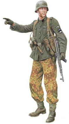 Member of the Estonian Waffen-SS.