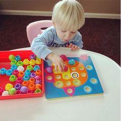 Composite Picture Puzzle Mushroom Nail Kit  Educational Toy //Price: $21.54 & FREE Shipping //     #kidsledshoes #educationaltoy