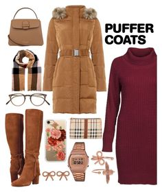 """""""Pufff look"""" by veroprado27 ❤ liked on Polyvore featuring DUBARRY, Phase Eight, Burberry, Oliver Peoples, Casetify, G-Shock and Olivia Burton"""