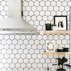"EliteTile Retro Super Hex 3.73"" x 3.73"" Porcelain Mosaic Tile & Reviews 