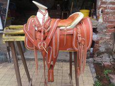 Silla De Montar, Charra Redonda Jaraneada - $ 6,000.00 en MercadoLibre