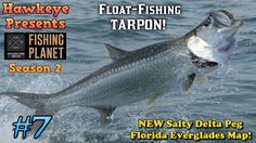 Fishing Planet S2 - Ep. #7:  Float-Fishing TARPON on the NEW Salty Delta...