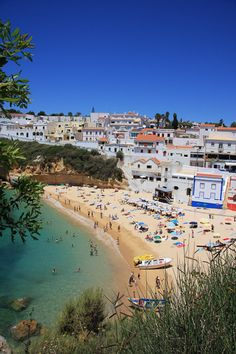 Portugal, Algarve - Praia do Carvoeiro    #Portugal #beach #Carvoeiro #Algarve #holidays #travel #sun #ocean #Atlantic #vacations