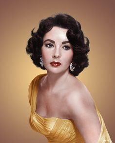 Elizabeth Taylor by klimbims, via Flickr Liz's best tip ever......